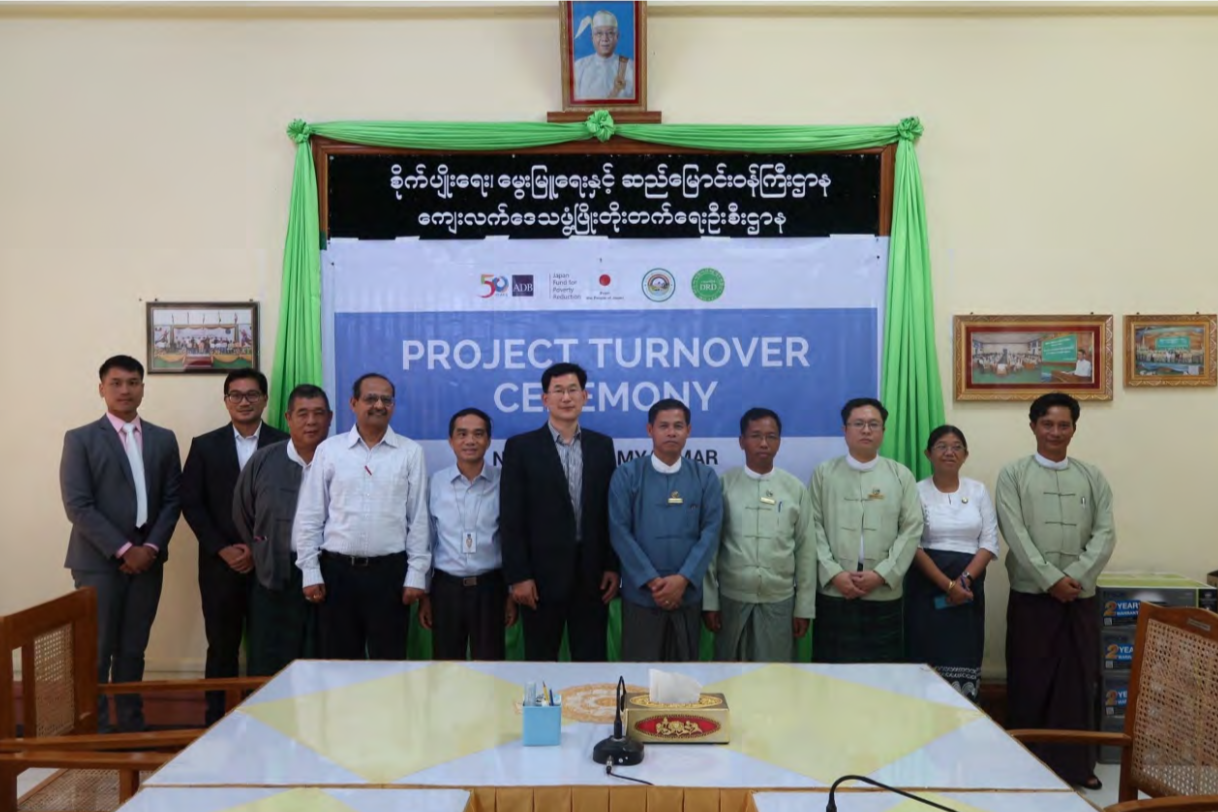 microgrid project turnover with asian development bank