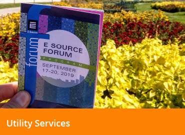 Communication and Customer Experience at the 2019 E Source Forum