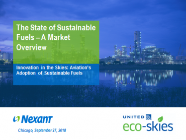 A State of Sustainable Fuels Market Overview