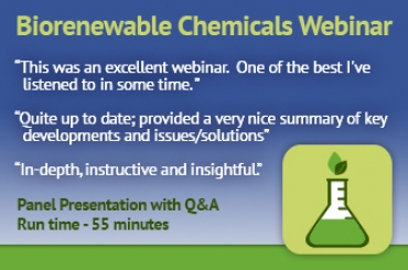 Recorded Webinar: Latest Thinking on Bio-Renewables Manufacturing - A Roadmap to Success