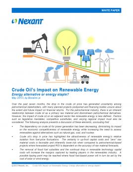 renewable resources essay