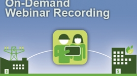 Energy Savings from the Small Business Sector Webinar Recording